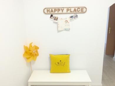 Happy Place: Disfruta antes y después de clase